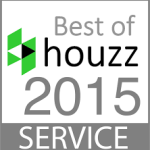 Best of houzz 2015 Service Award Winner