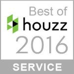 Best of houzz 2016 Service Award Winner
